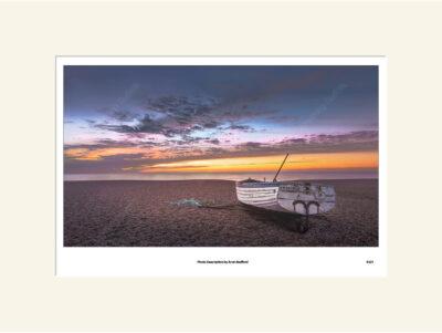 Aldeburgh Viking Sunrise by Aron Radford