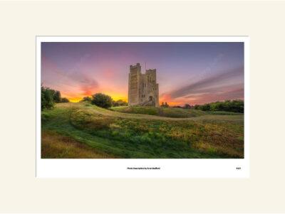 Orford Castle Sunrise by Aron Radford