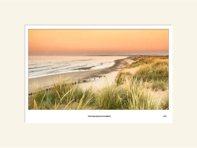 Walberswick Dunes Sunrise by Aron Radford