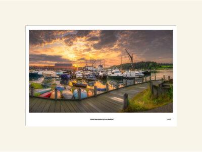 Woodbridge Tide Mill Sunrise by Aron Radford