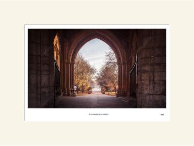 Autumn Gateway Abbey Gardens