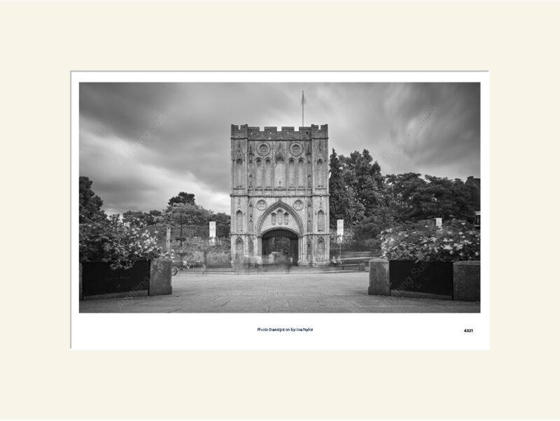 Abbey Gate Bury St Edmunds mono