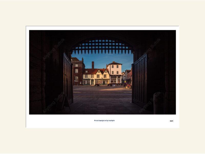 Through the Abbey Gate Bury St Edmunds