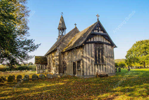Crowfield Church by Kevin Wailes