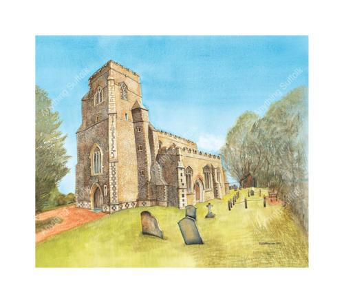 Preston St Mary Church, Bury St Edmunds by Kim Whittingham