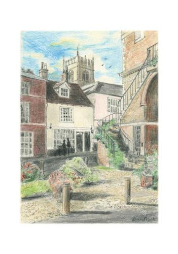 Shire Hill, Woodbridge by Malcolm Buntrock