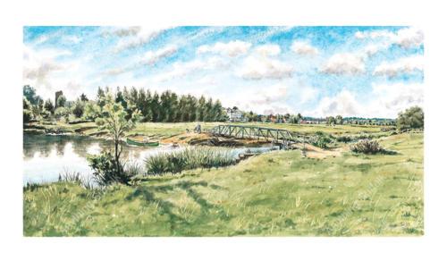 Sudbury Watermeadows by Steven Binks